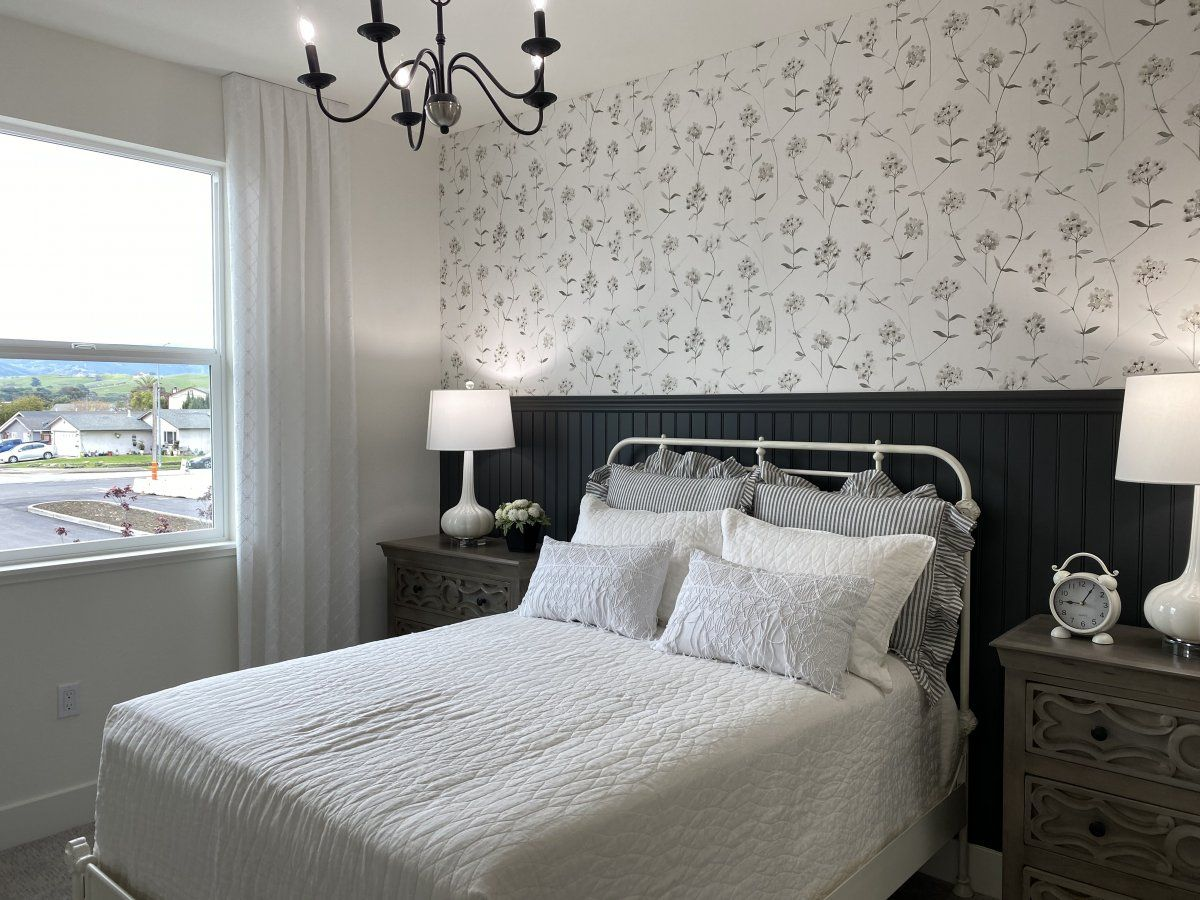 Bedroom featured in the Carousel Residence 3 By Kiper Homes in Santa Cruz, CA