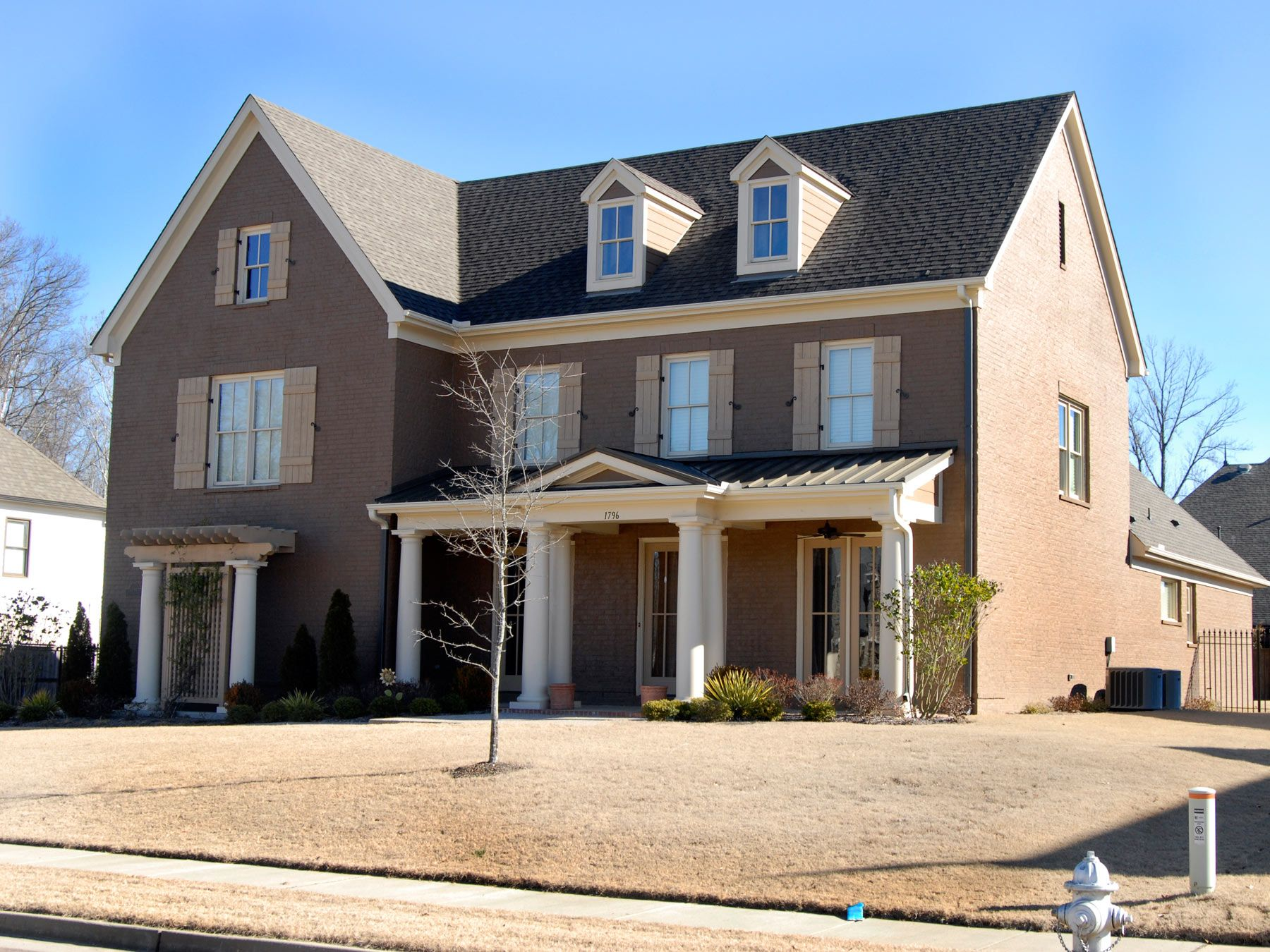 Exterior featured in the Cumberland II By Klazmer Sklar Homes  in Memphis, TN
