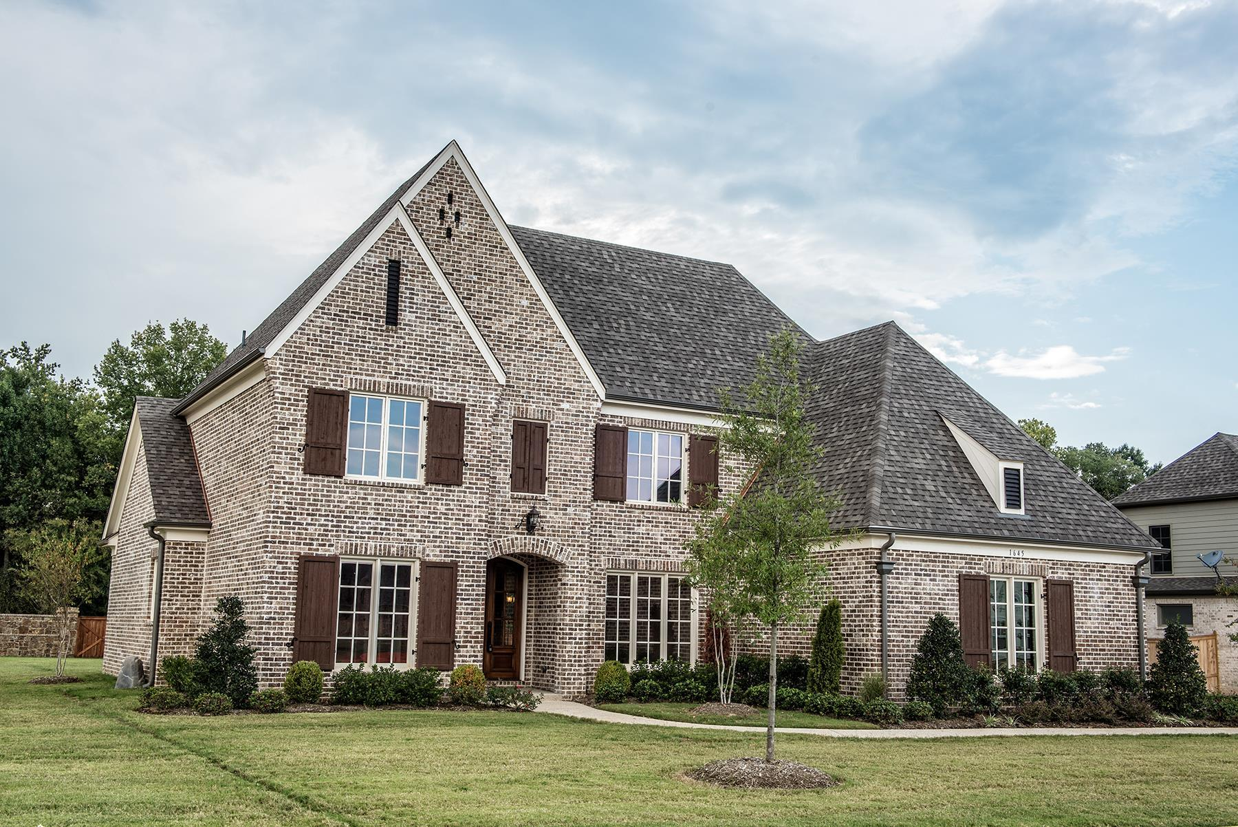 Exterior featured in the Riva Ridge By Klazmer Sklar Homes  in Memphis, TN