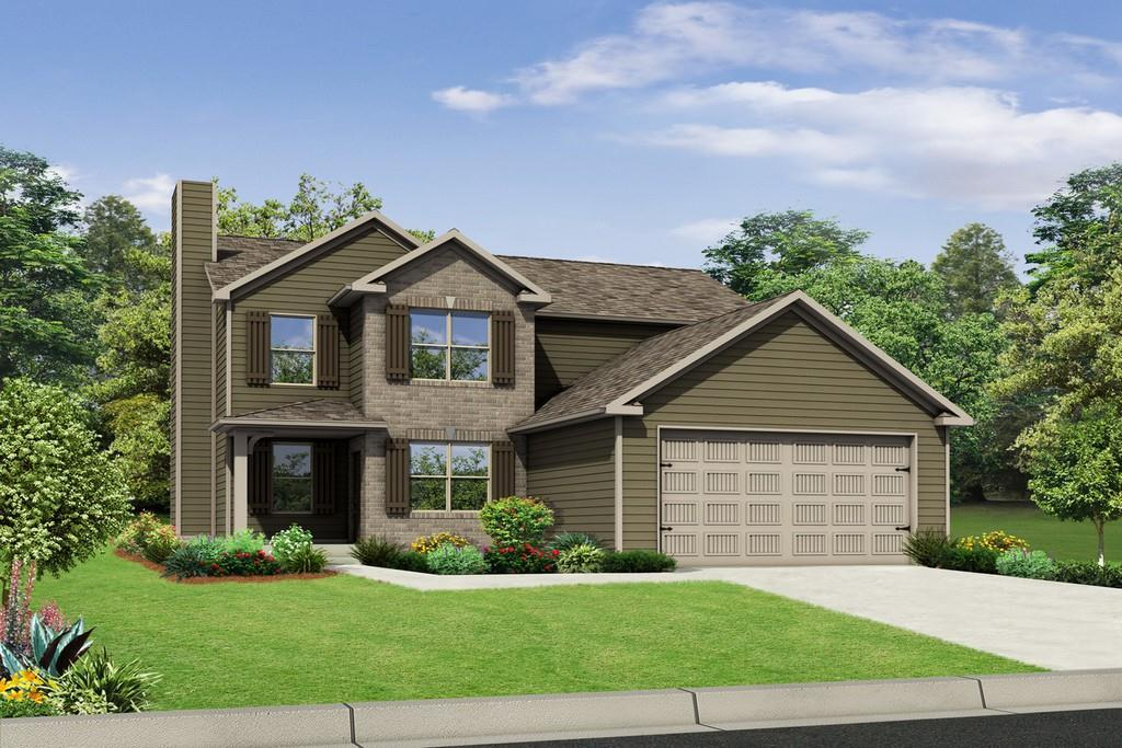 Exterior featured in The Patriot By Knight Homes in Macon, GA