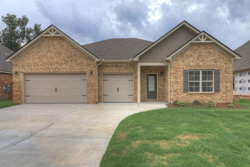 Exterior featured in The Firestone By Knight Homes in Macon, GA