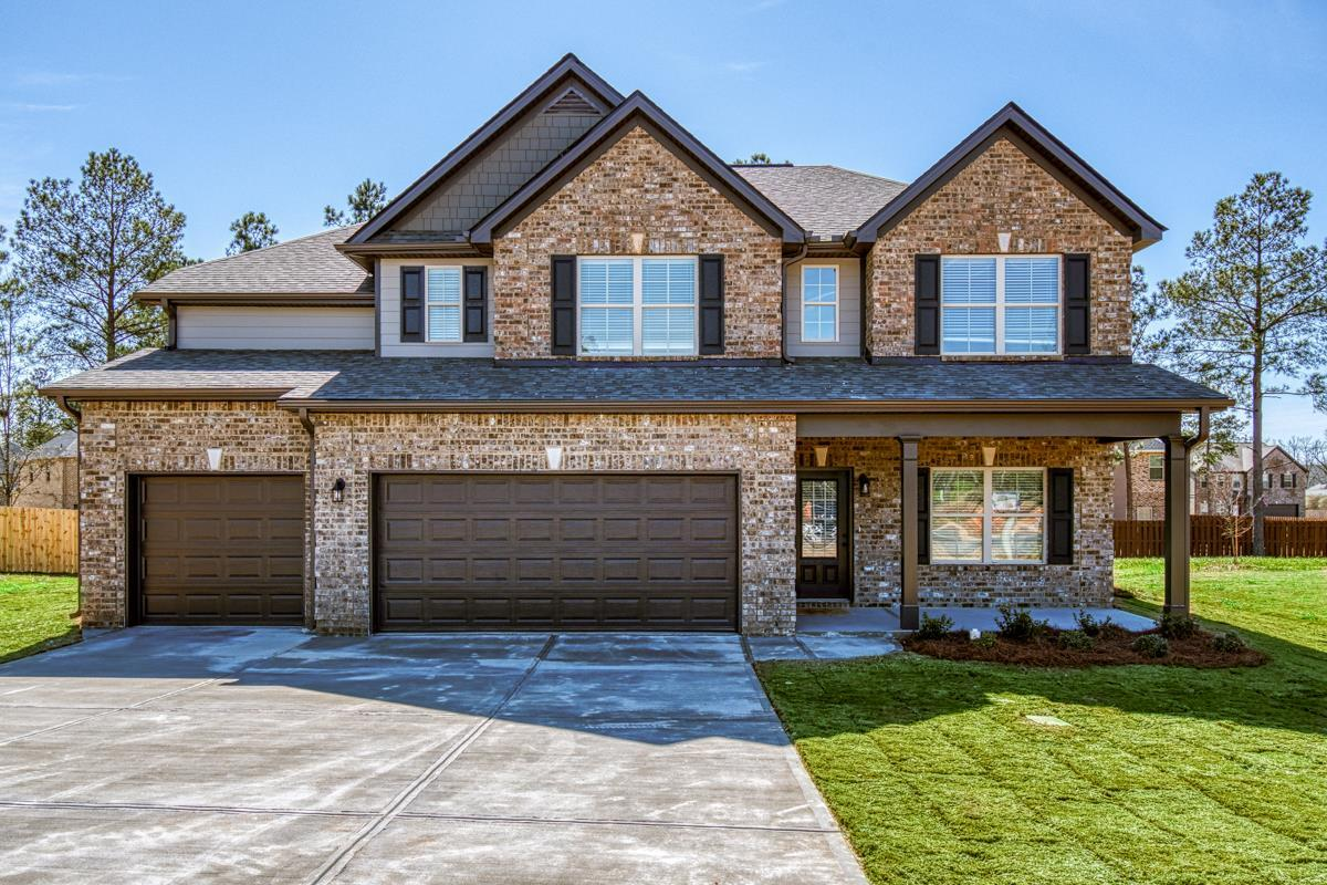Exterior featured in The Abigail I By Knight Homes in Macon, GA