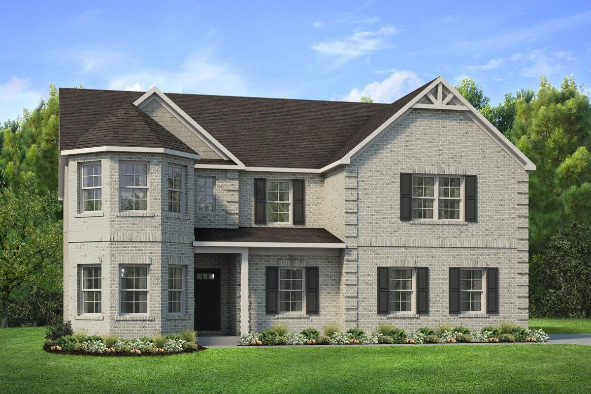 Exterior featured in The Isabella V By Knight Homes in Atlanta, GA
