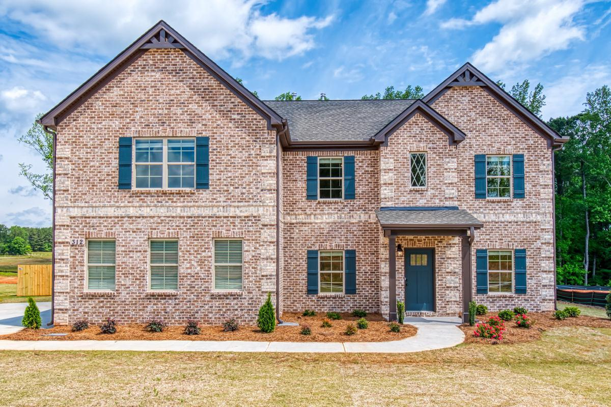 Exterior featured in The McKinley II By Knight Homes in Atlanta, GA