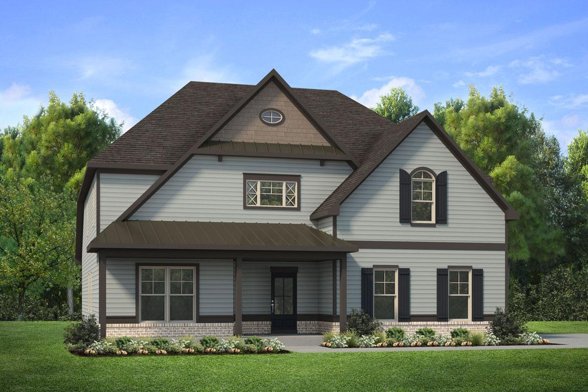 Exterior featured in The Chatham By Knight Homes in Atlanta, GA