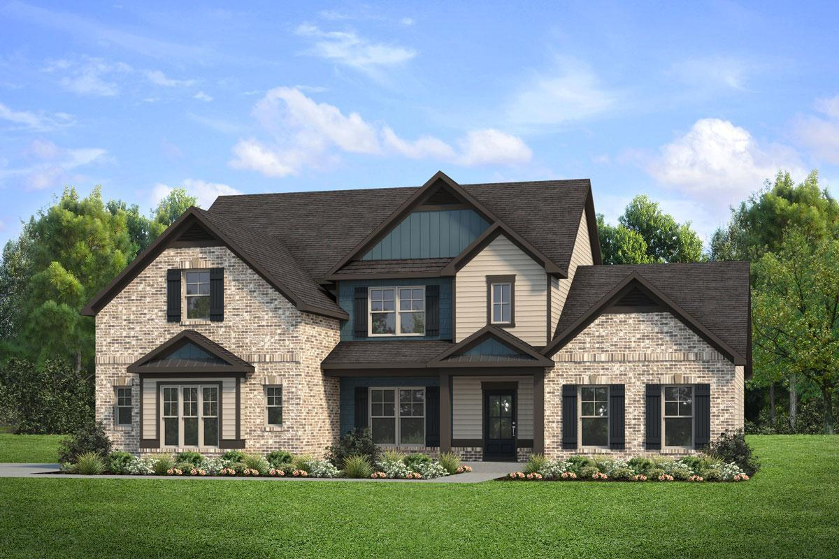 Exterior featured in The Margaret By Knight Homes in Atlanta, GA