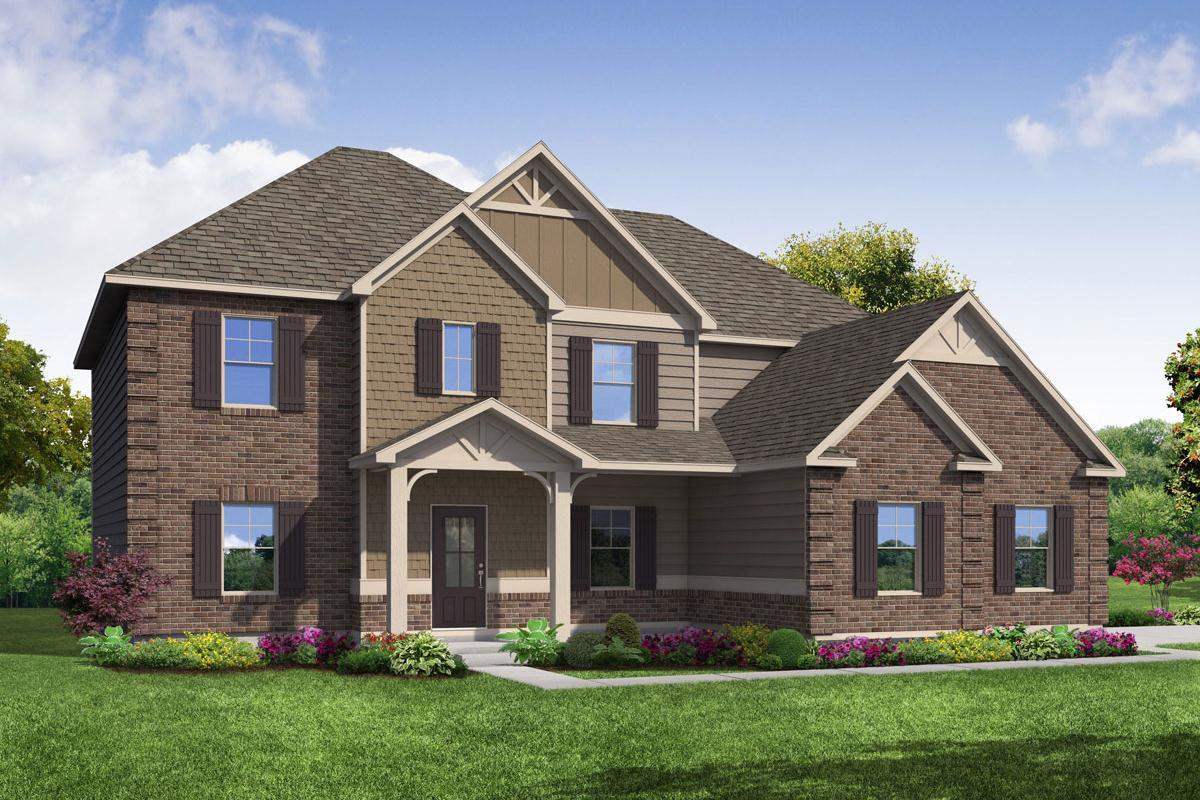Exterior featured in The Perkins By Knight Homes in Atlanta, GA