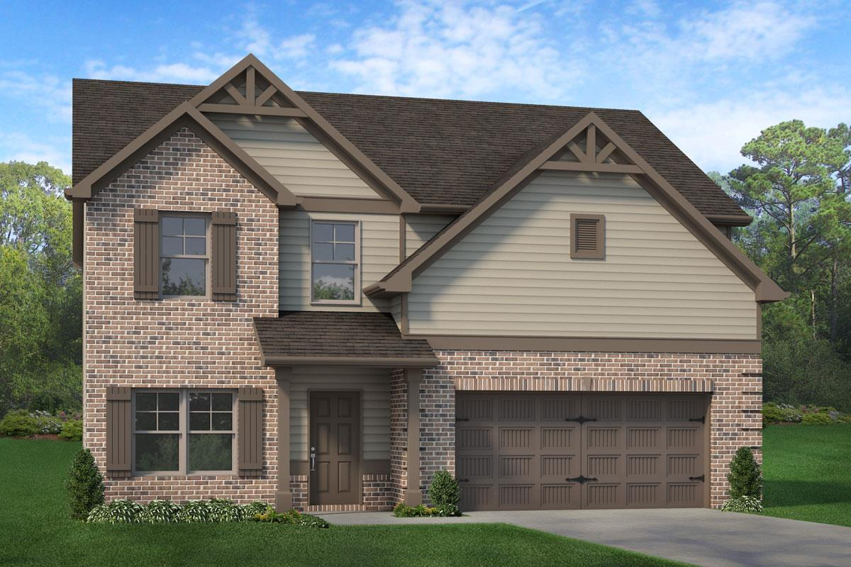 Exterior featured in The Oakmont By Knight Homes in Atlanta, GA