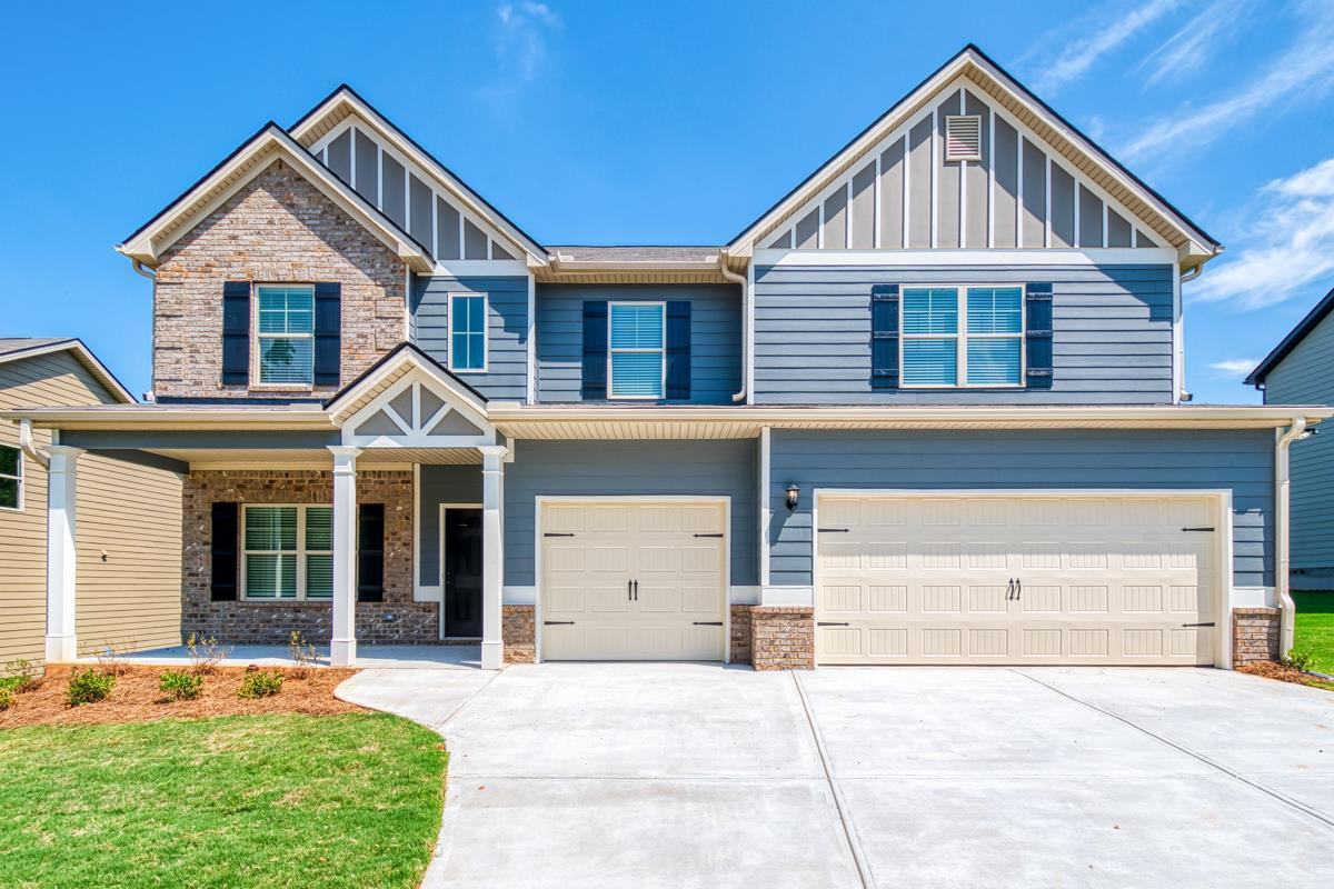 Exterior featured in The Isabella I By Knight Homes in Atlanta, GA