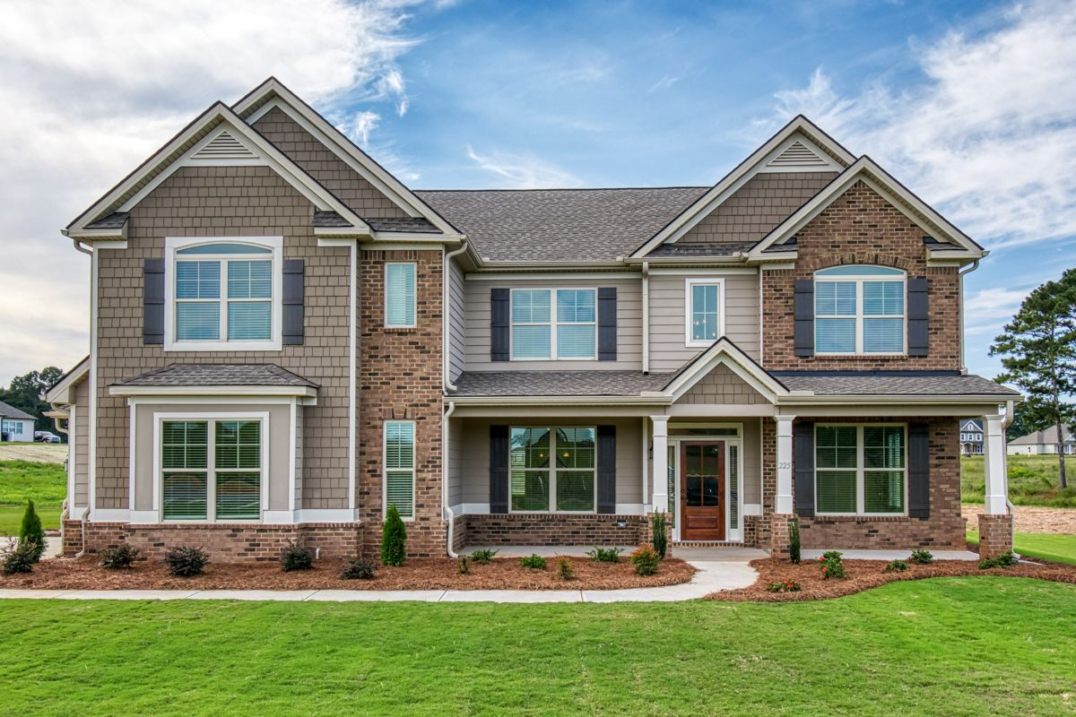 Exterior featured in The Adele (previously know as the Augusta) By Knight Homes in Atlanta, GA