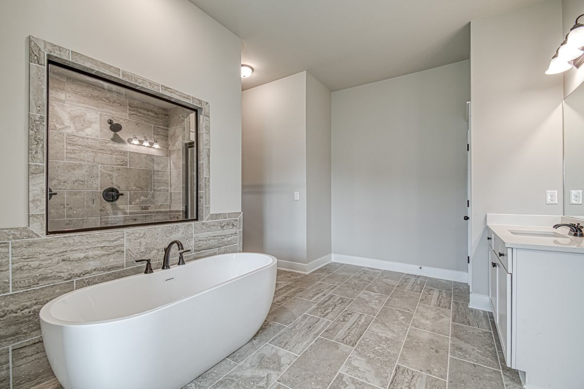 Bathroom featured in The Adele (previously know as the Augusta) By Knight Homes in Atlanta, GA