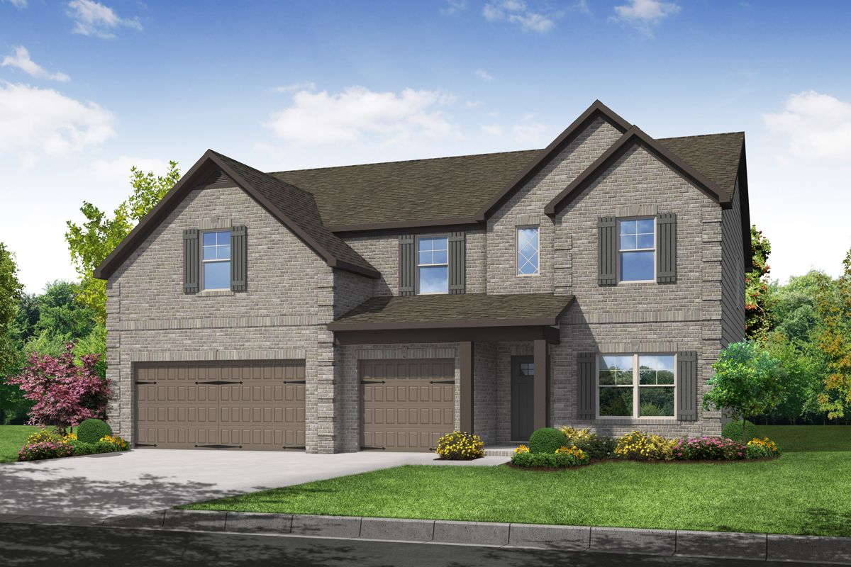 Exterior featured in The Isabella II By Knight Homes in Atlanta, GA