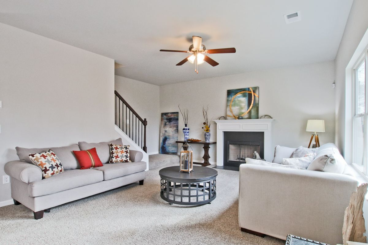 Living Area featured in The Hamilton II By Knight Homes in Auburn-Opelika, AL