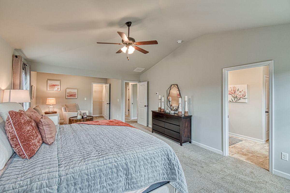 Bedroom featured in The Zoey II By Knight Homes in Auburn-Opelika, AL