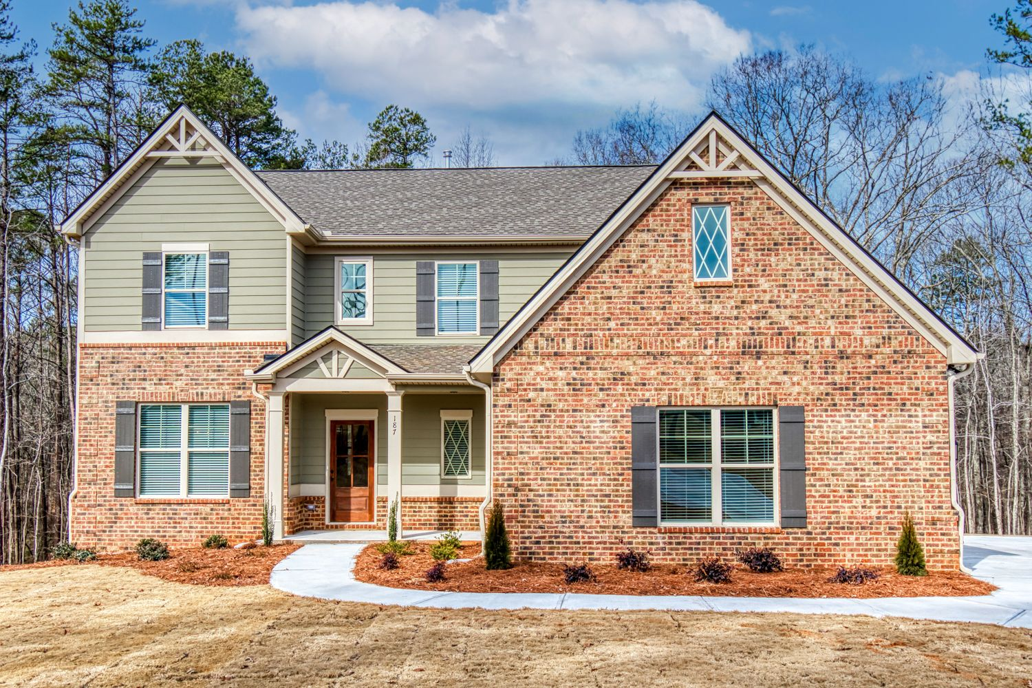 Exterior featured in The Lauren By Knight Homes in Atlanta, GA