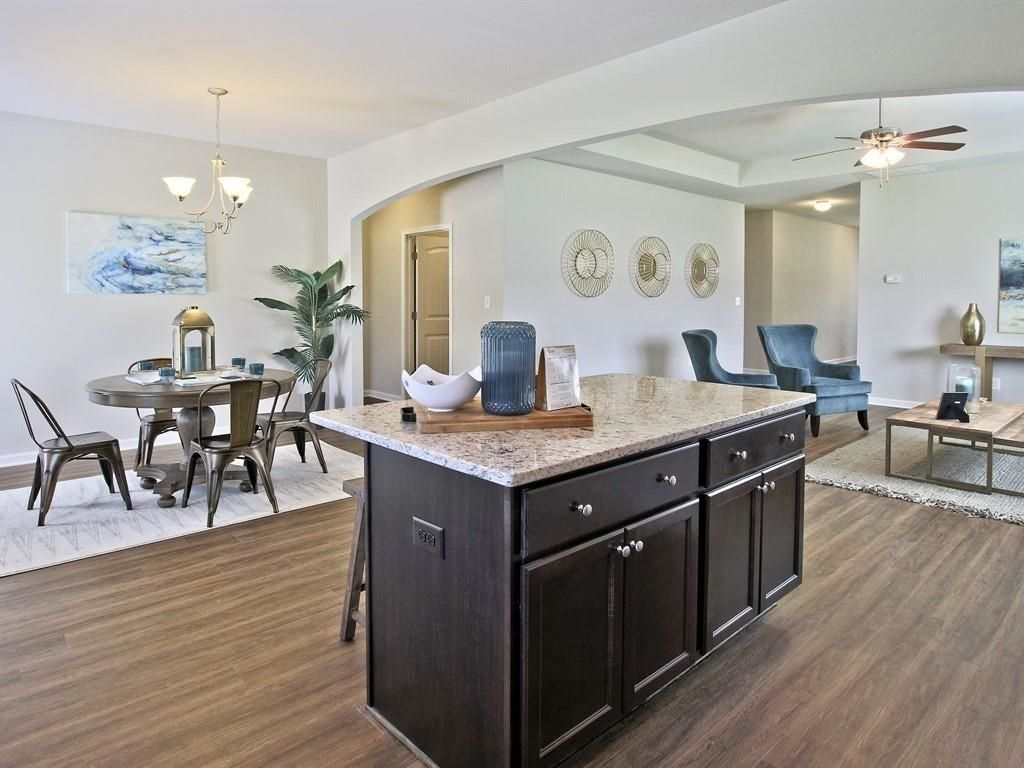 Living Area featured in The Cannon By Knight Homes in Macon, GA