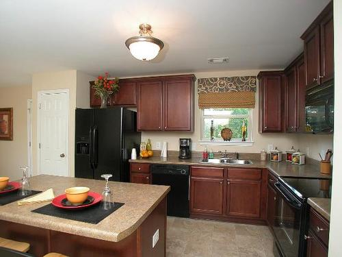 Kitchen-in-The Patriot-at-Amelia Place-in-Byron