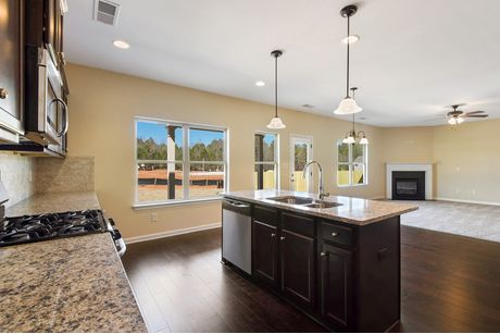 Kitchen-in-The Abigail I-at-Wyndham South/Gate & The Estates-in-Opelika