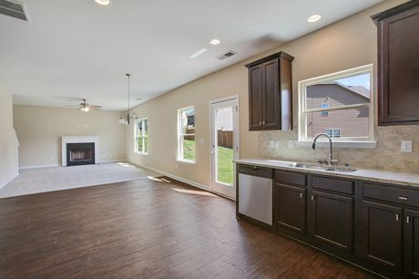 Kitchen-in-The Hamilton II-at-Amelia Place-in-Byron