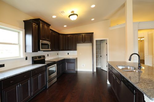 Kitchen-in-The Huffman II-at-Berkeley Lakes-in-Locust Grove