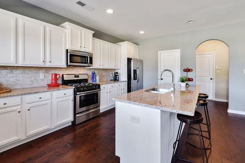 Kitchen-in-The Isabella I-at-Cambridge Meadows-in-Atlanta