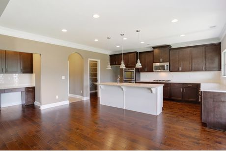 Kitchen-in-The Isabella II-at-Mimms Trail-in-Auburn