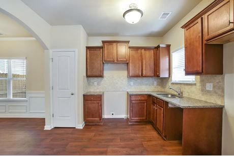 Kitchen-in-The Raintree II-at-West Park at Avalon-in-McDonough
