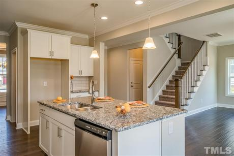 Kitchen-in-The Hickory-at-Knightdale Station-in-Knightdale