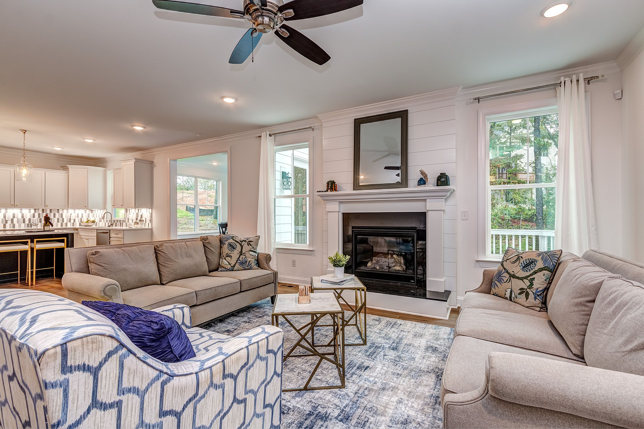 Living Area featured in the Greenville By Knotts Builders in Charlotte, SC
