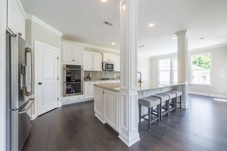 Kitchen-in-Harvard-at-Knotts Builders – Brookline-in-Charlotte