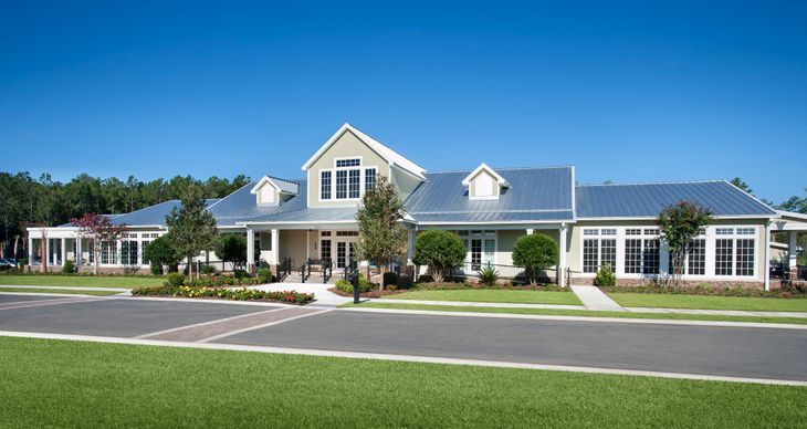 The Clubhouse:Cresswind Myrtle Beach by Kolter Homes