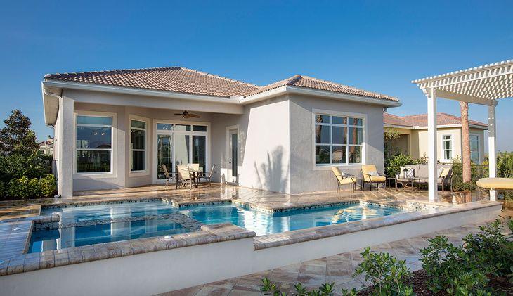 Pool of Alessa Model:PGA Village Verano by Kolter Homes