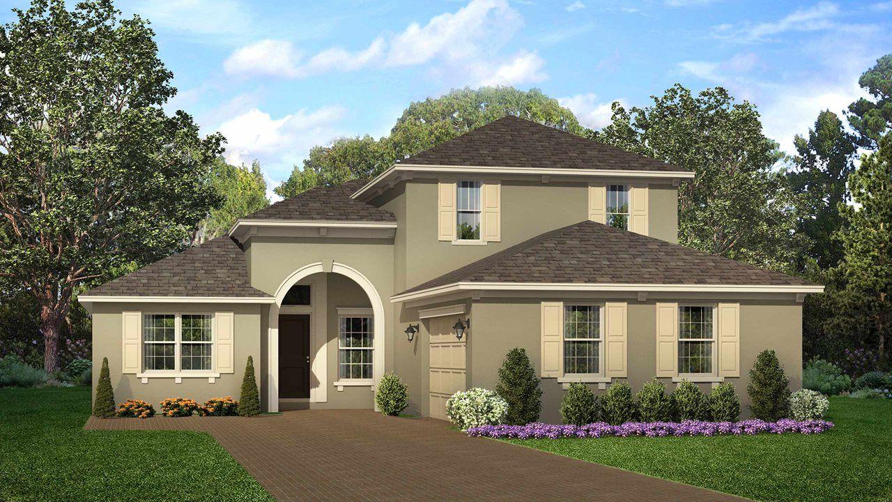 Spruce With Bonus Plan, Deland, Florida 32724   Spruce With Bonus Plan At  Cresswind At Victoria Gardens By Kolter Homes
