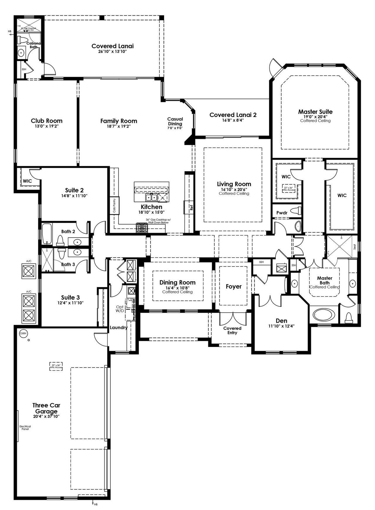 Martin Plan At Artistry Sarasota In Sarasota Fl By Kolter Homes