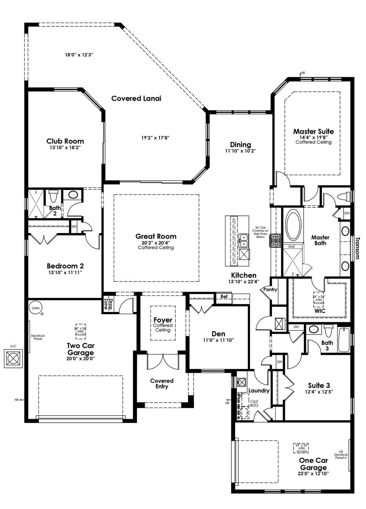 Whitaker Plan At Artistry Sarasota In Sarasota Fl By Kolter Homes