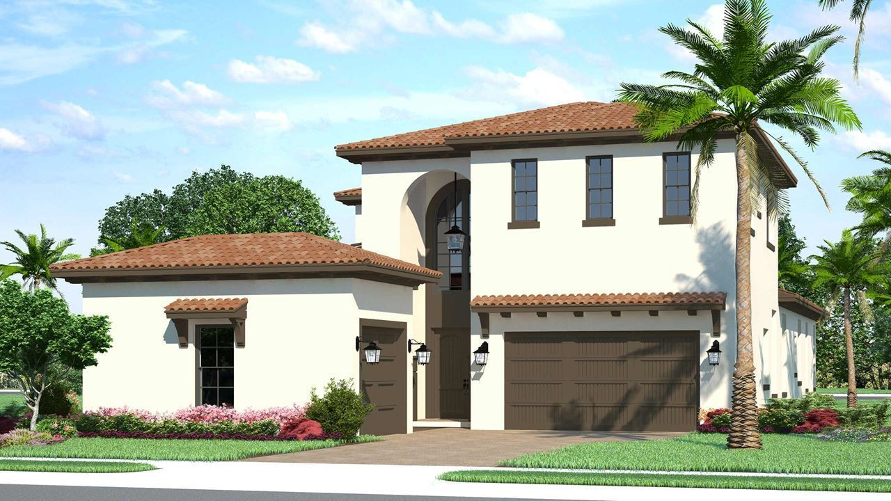 Exterior featured in the Edge C By Kolter Homes in Palm Beach County, FL