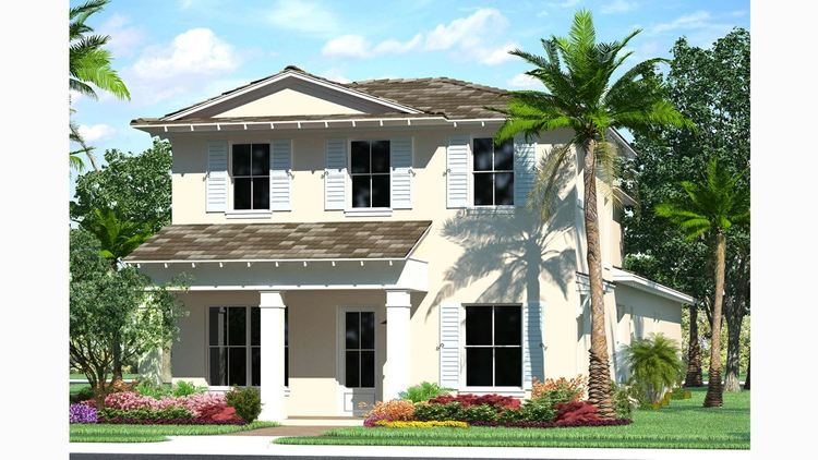 Exterior featured in the Park D By Kolter Homes in Palm Beach County, FL