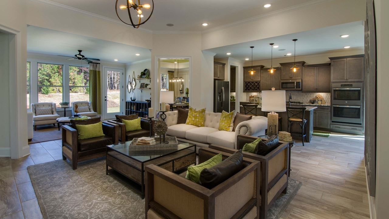 Living Area featured in the Hickory By Kolter Homes in Atlanta, GA