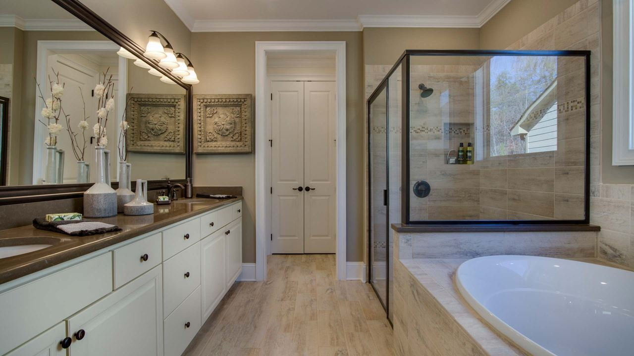 Bathroom featured in the Hickory By Kolter Homes in Atlanta, GA