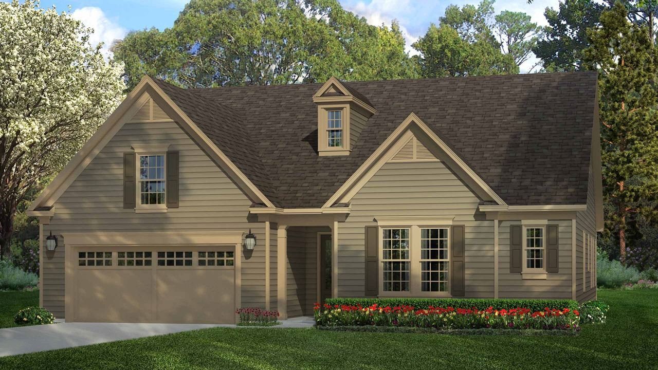 Exterior featured in the Hickory By Kolter Homes in Atlanta, GA