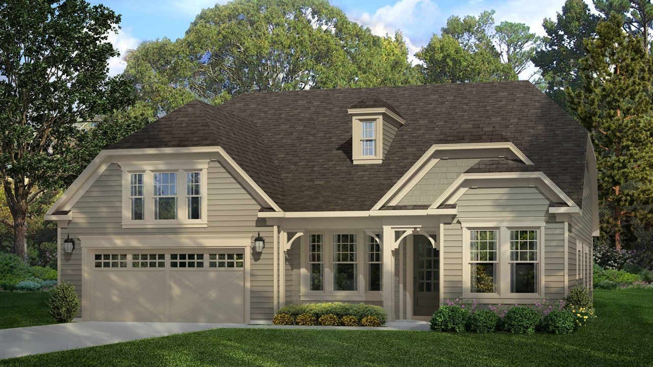 Exterior featured in the Redwood By Kolter Homes in Atlanta, GA