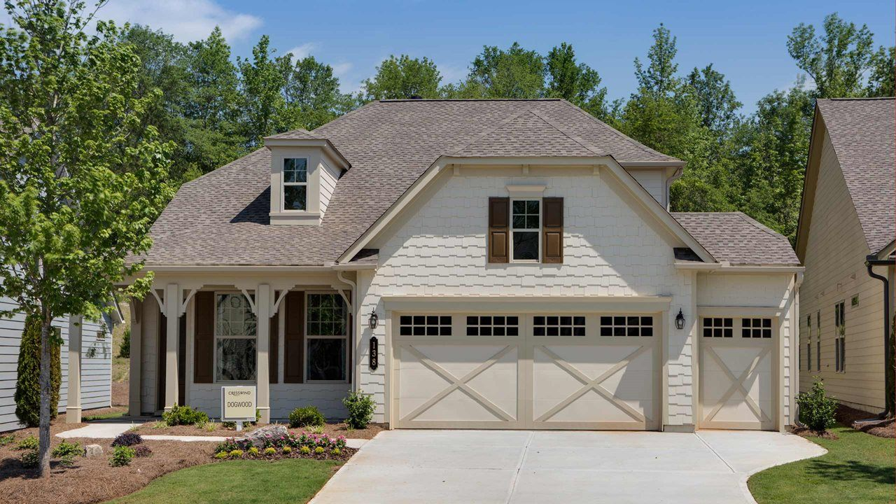Exterior featured in the Dogwood By Kolter Homes in Atlanta, GA