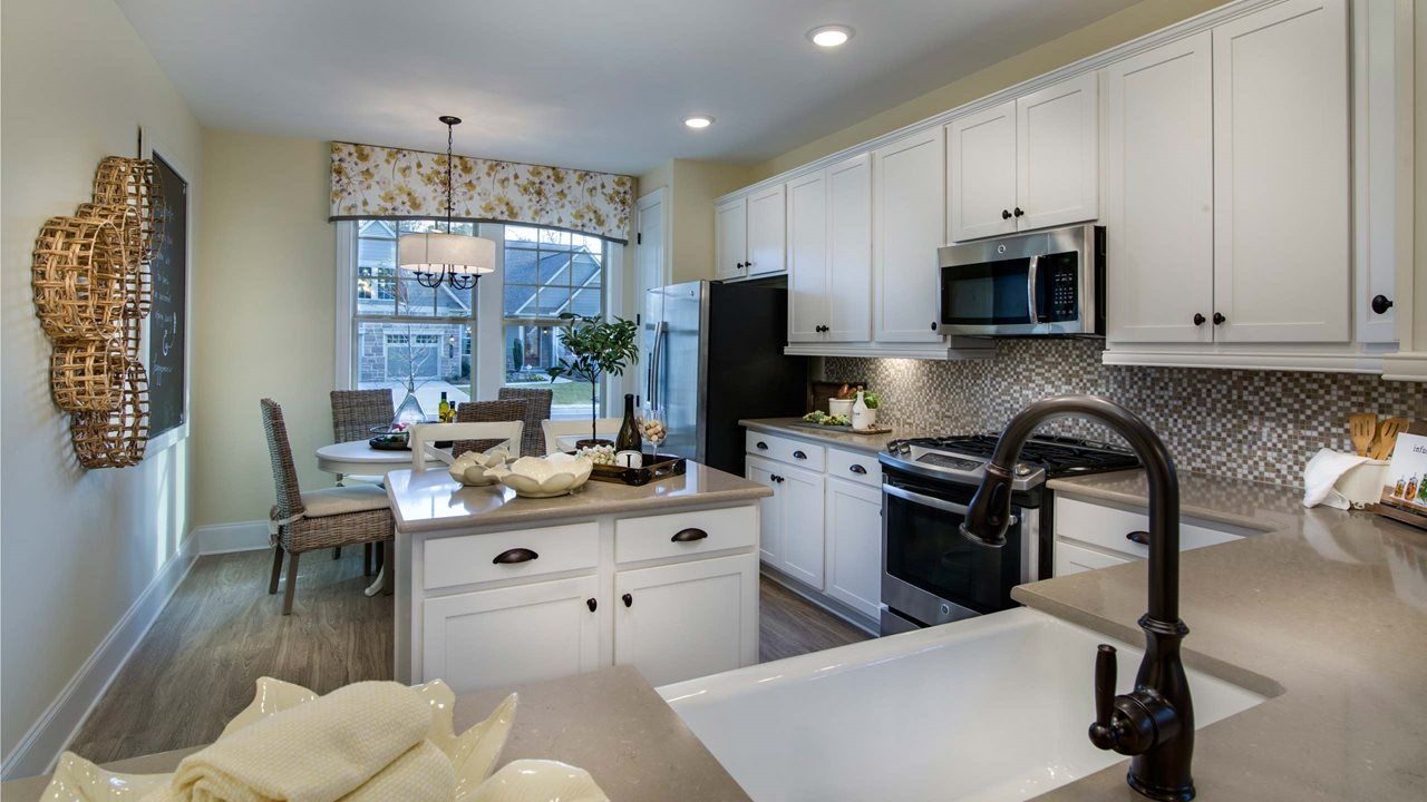 Kitchen featured in the Ashford By Kolter Homes in Charlotte, NC