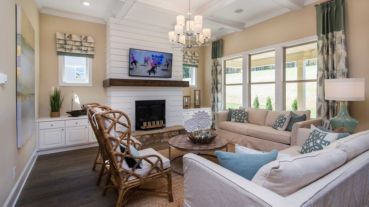 Living Area featured in the Oakside By Kolter Homes in Charlotte, NC