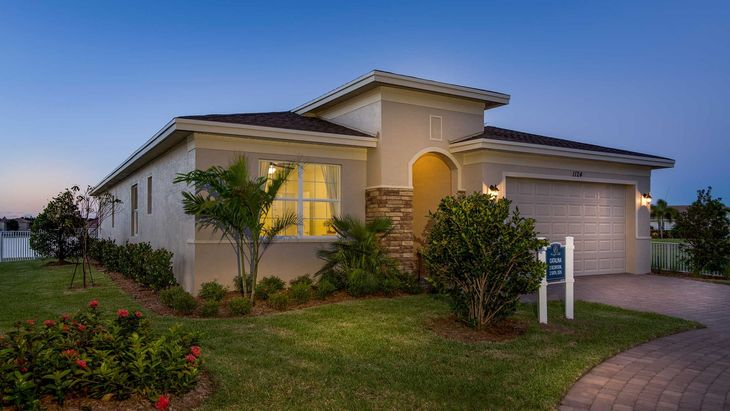 Vizcaya Falls In Port Saint Lucie Fl New Homes By