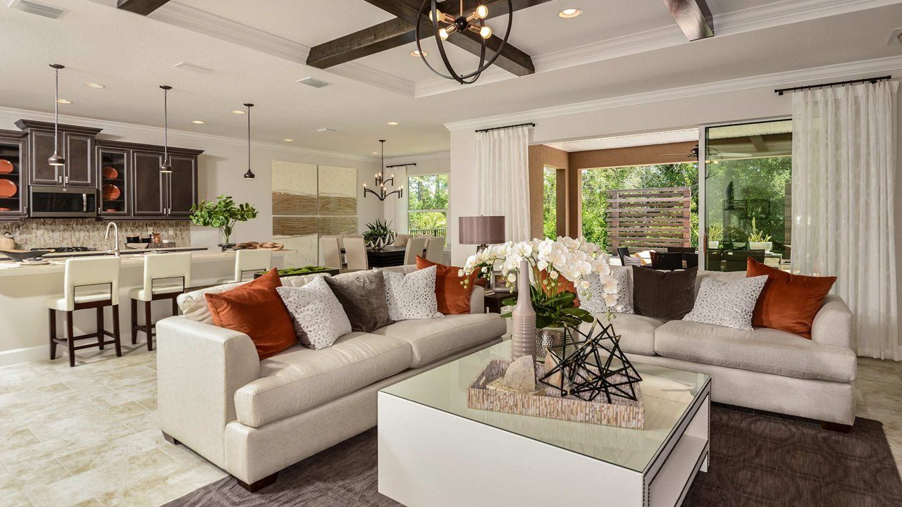 Living Area featured in the Spruce with Bonus By Kolter Homes in Daytona Beach, FL