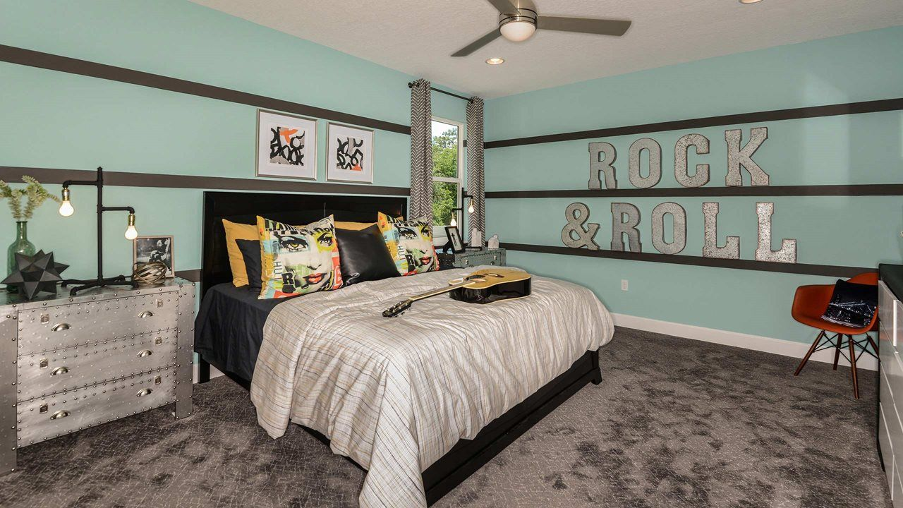 Bedroom featured in the Spruce with Bonus By Kolter Homes in Daytona Beach, FL