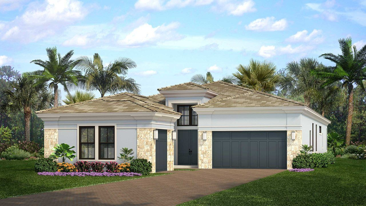 Exterior featured in the Michelangelo By Kolter Homes in Palm Beach County, FL