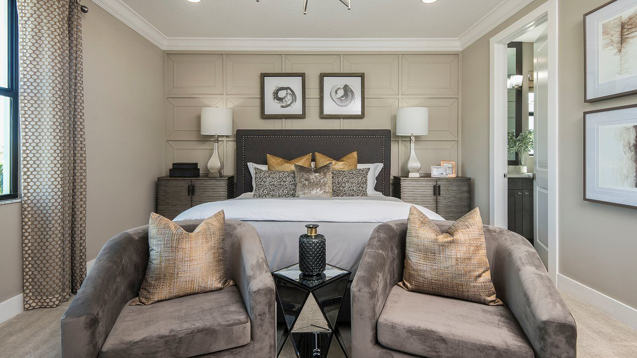 Bedroom featured in the West By Kolter Homes in Palm Beach County, FL