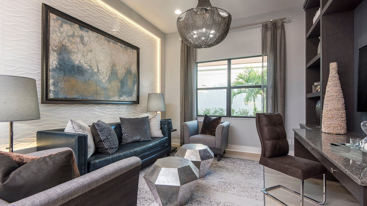 Living Area featured in the Bellini By Kolter Homes in Palm Beach County, FL